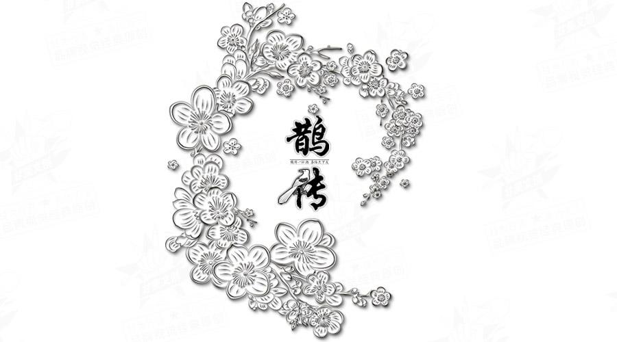 深圳城市线描手绘